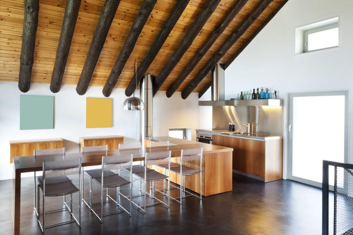 zolderkamer inrichten keuken